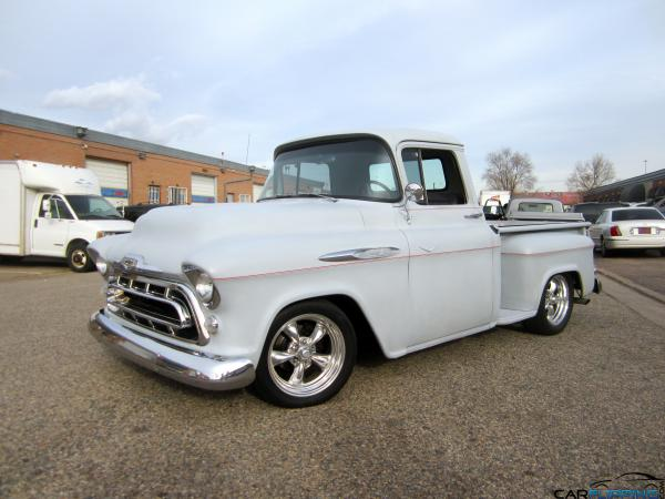 1957 Chevrolet Apache Carflipping Com Featuring The