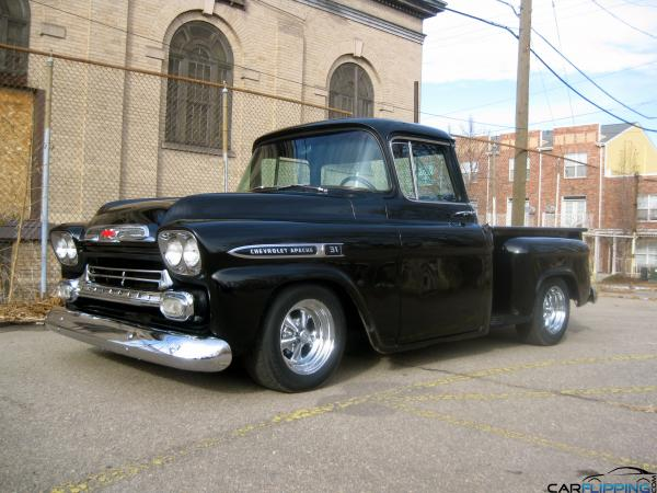 F Dc D E F B D Ac B Pickup Trucks Chevy Trucks together with  together with C A Bdb B E D C Bcace Rat Rods Pinup Girls further Cct Z B Chevy Stepside Pickup Truck Bcustom Interior moreover Chevrolet Apache Stepside Carflipping. on 57 chevy stepside pickup truck